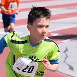 Foundation School Runner on Track