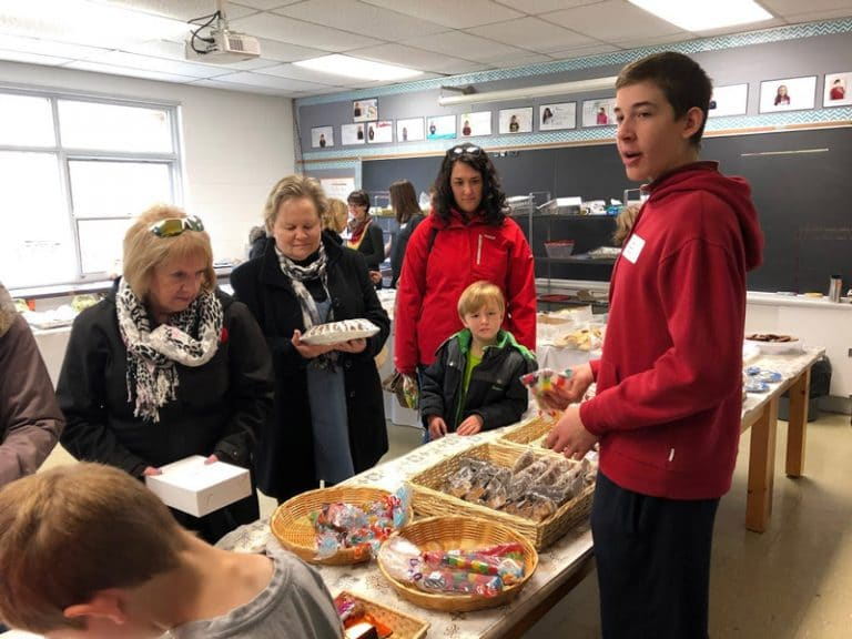 People & Treats at Foundations Winterbourne event